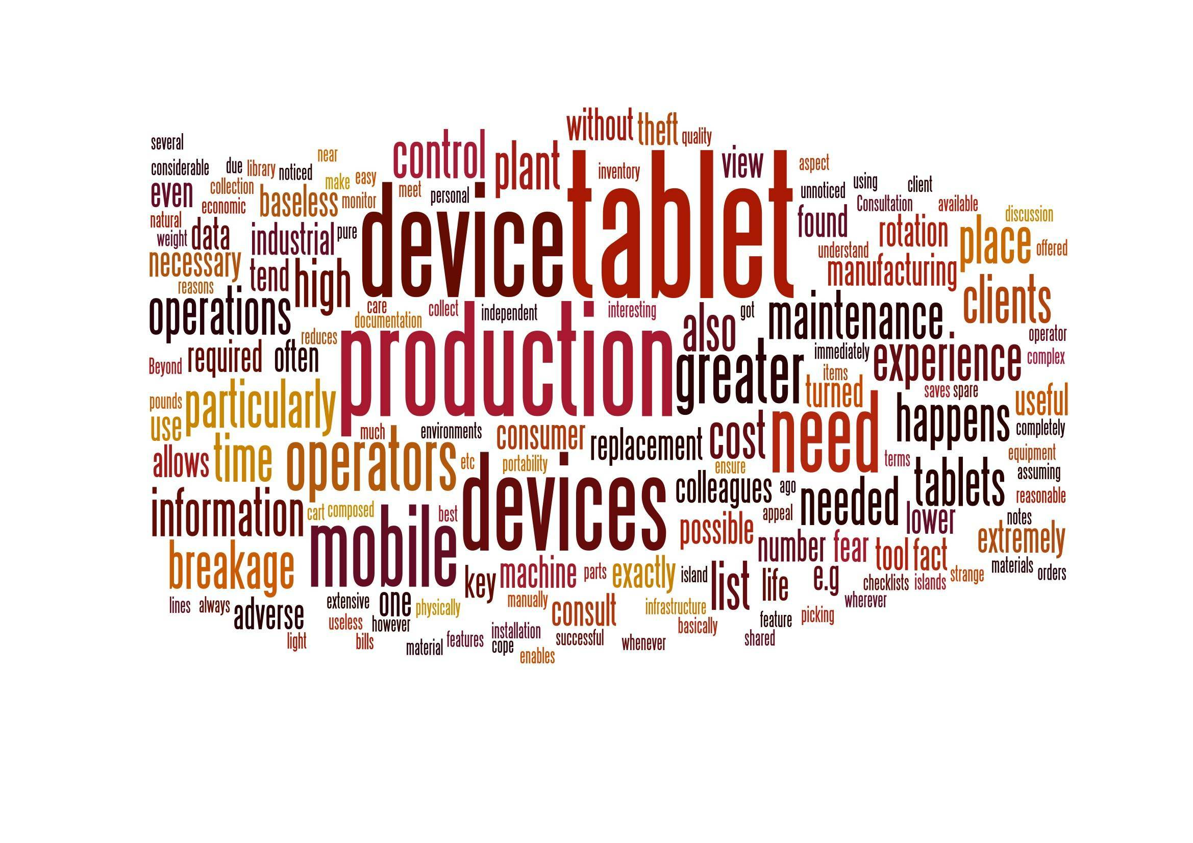 Mobile Technology in Manufacturing